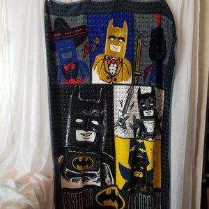 """Lego Batman Throw Blanket 58""""L X 28""""W Soft Plush"""